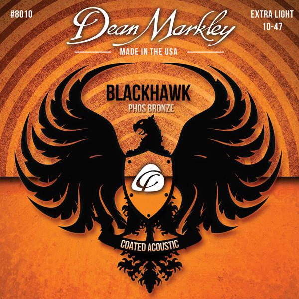Струны для акустической гитары DEAN MARKLEY 8010 BLACKHAWK ACOUSTIC PHOS XL (10-47)