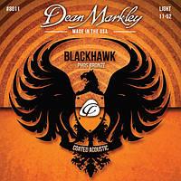 Струны для акустической гитары DEAN MARKLEY 8011 BLACKHAWK ACOUSTIC PHOS LT (11-52)
