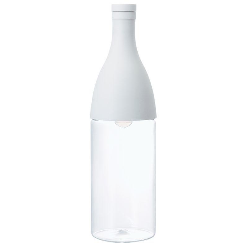 Бутылка-заварник Hario Aisne для горячего и холодного чая, серая (800 мл)