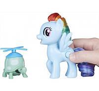 My Little Pony Пони Радуга с поворотной головой Rainbow Dash Silly Looks Hasbro E2567