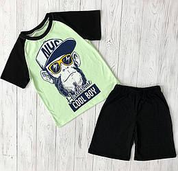 Комплект для хлопчика футболка шорти