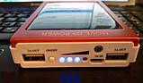 Повер банк Power Bank 30000 mAh на солнечных батареях 2 USB, фото 8