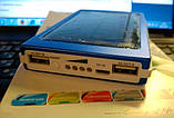 Повер банк Power Bank 30000 mAh на солнечных батареях 2 USB, фото 9