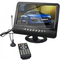 """Портативный автомобильный телевизор 7"""" USB с батареей и антенной"""