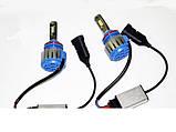 Ксенон світлодіодний для автомобільних фар з цоколем H8/Н11 Xenon Led 6000к 35W діодні лампи, фото 2