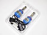 Ксенон світлодіодний для автомобільних фар з цоколем H8/Н11 Xenon Led 6000к 35W діодні лампи, фото 4