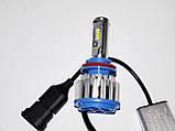 Ксенон світлодіодний для автомобільних фар з цоколем H8/Н11 Xenon Led 6000к 35W діодні лампи, фото 5