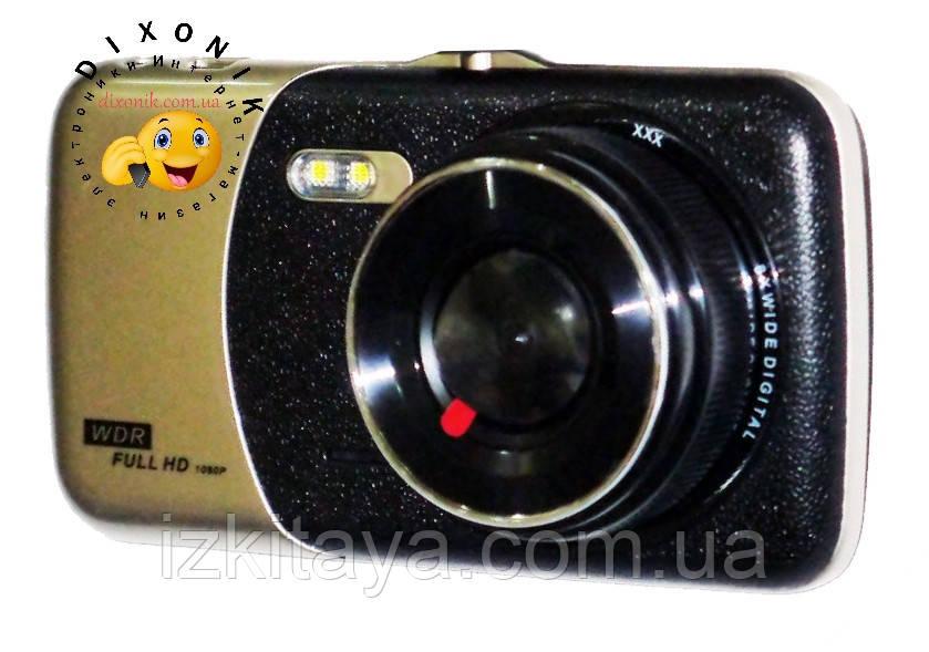 Автомобильный видеорегистратор DVR T652 Full HD камера заднего вида
