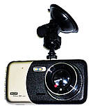 Автомобильный видеорегистратор DVR T652 Full HD камера заднего вида, фото 2