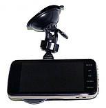 Автомобильный видеорегистратор DVR T652 Full HD камера заднего вида, фото 3