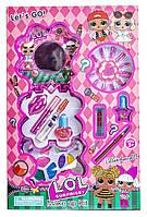 Детский набор косметики ЛОЛ для девочек с лаками и тенями. D - 76, фото 1