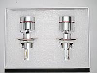 Светодиодные лампы H4 (на три контакта) Xenon LED 33W 12V лампы в фары дальний и ближний свет
