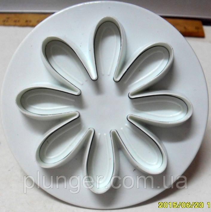 Плунжер кондитерский для мастики, марципана, теста Ромашка, 5 см