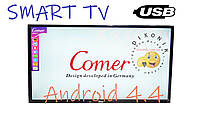 """Телевизор Comer LED 32"""" Smart TV+WiFi+T2, Android 4.4+HDMI"""