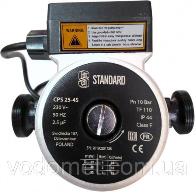 Циркуляционный насос STANDARD CPS 25-4S - 180