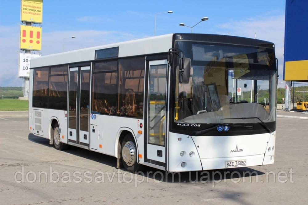 Новый автобус МАЗ 206 086