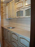 Кухня классическая, прованс, прямая, пленочная, фото 1