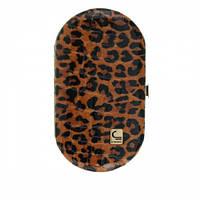 """Маникюрный набор Staleks """"Рамка овал"""" НМ-04/3 леопард коричневый"""