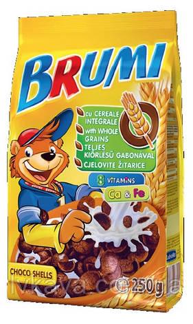 Сухой завтрак шоколадные ракушки  Brumi, 250 гр, фото 2