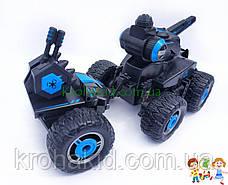 Машина на радиоуправлении джип вездеход с водяной пушкой, резиновые колеса, 37см, на аккумуляторе (YE81503), фото 3