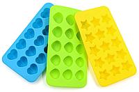 Форма силиконовая для шоколадных изделий и льда