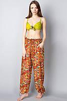 Летние женские брюки из хлопка