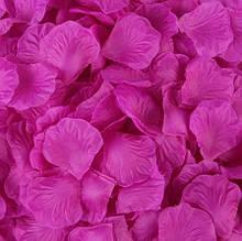 Набор сиреневых лепестков роз - 100шт.
