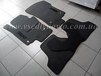 Ворсовые коврики Seat Leon с 2006-2012 гг. (Серые)