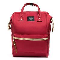 Сумка-наплічник-органайзер (рюкзак) для молодої мами у п'яти кольорах. Червоний.