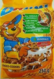 Сухой завтрак шоколадные мини печенья  Brumi, 250 гр