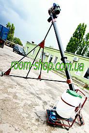 Шнековый погрузчик (транспортер) диаметром 133 мм на 6 метров, с протравителем семян