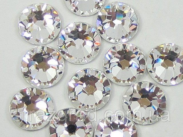 Стрази термоклеевие Premium Crystal SS12 Hot Fix 100 шт.