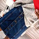 Юбка джинсовая на пуговицах спереди, фото 6