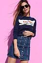 Юбка джинсовая на пуговицах спереди, фото 7