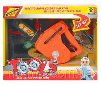 Набор инструментов для детей 123D, фото 1