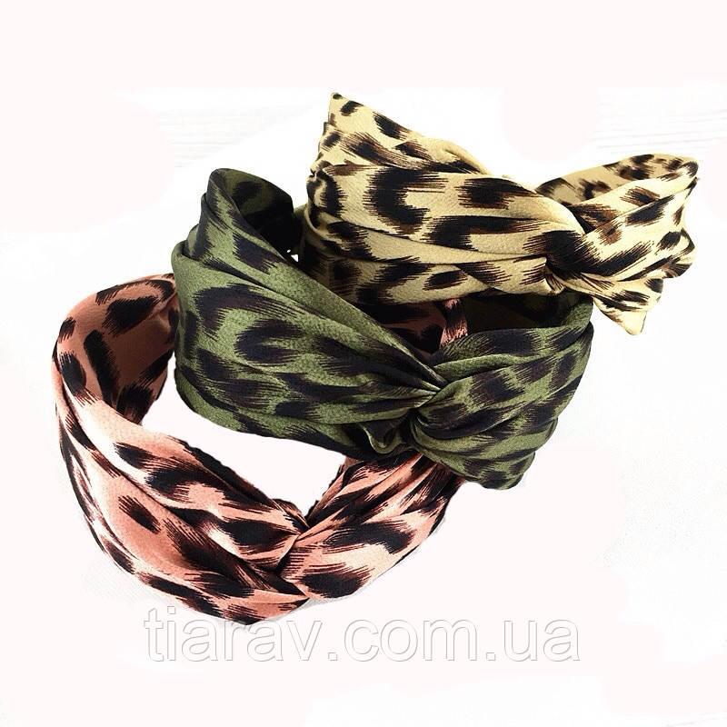 Обруч для волос широкий, модный широкий обруч для волос тигровый розовый