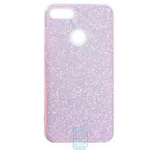 Чохол силіконовий Shine Huawei P Smart рожевий
