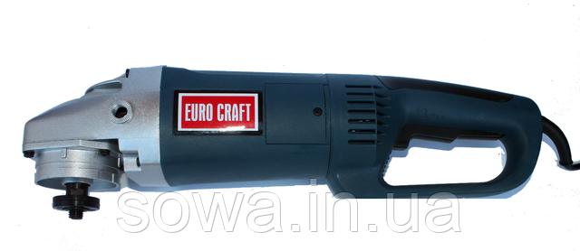 ✔️ Болгарка Euro Craft AG 232 + Плавный пуск