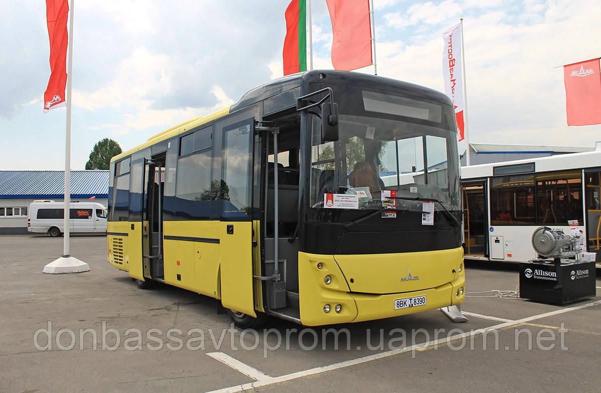 Новый междугородний автобус МАЗ 232 062