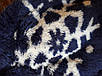 Подростковый халат с капюшоном Nadine, рост 140, тёмно синий, фото 5