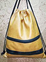 Сумка рюкзак-мешок Сhanel искусств кожа(только ОПТ ) Сумка для обуви на затяжках, фото 1