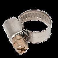 Хомут нержавеющий (Хомут нержавіючий) 10-16 мм