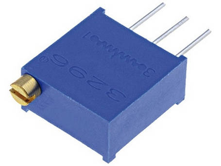 Резистор подстроечный 20 кОм 3296W многооборотный, фото 2