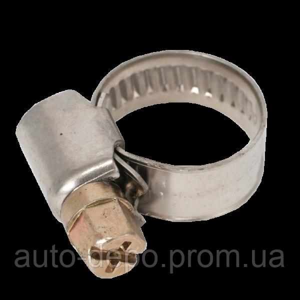 Хомут нержавеющий (Хомут нержавіючий) 25-40 мм