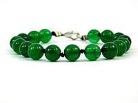 Эксклюзивный браслет Хризопраз, Изысканный браслет из натурального камня, Красивые украшения из натурального к