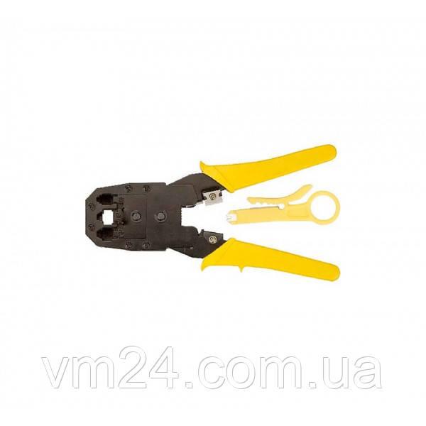 Инструмент MLT-2 (HT-316) для обжимки RJ-45 (8P8C) и RJ-12 / 11 (6P6C), Желтые Q10