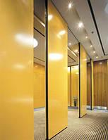Раздвижные мобильные стены офисные перегородки Optimal для конференц-залов