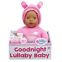 "Zapf Музична лялька пупс Бебі Берн ""Колискова"" Baby BornGoodnight Lullaby Brown Eyes Realistic Baby Doll"