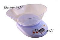 Весы кухонные + чаша (вес до 5ми килограмм) тип 2