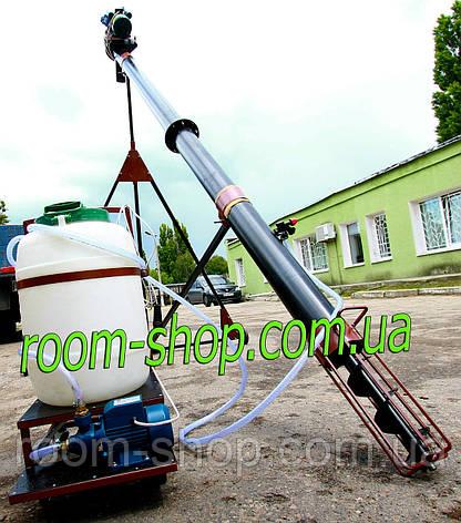 Шнековый погрузчик (транспортер) диаметром 159 мм на 6 метров, с протравителем семян, фото 2